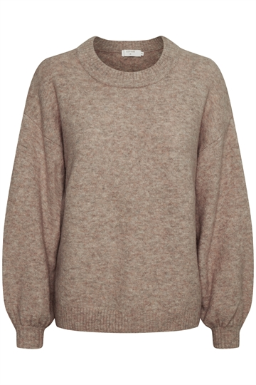 Cream Angha gray pullover