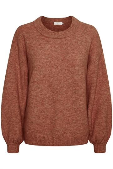 Cream Angha red pullover